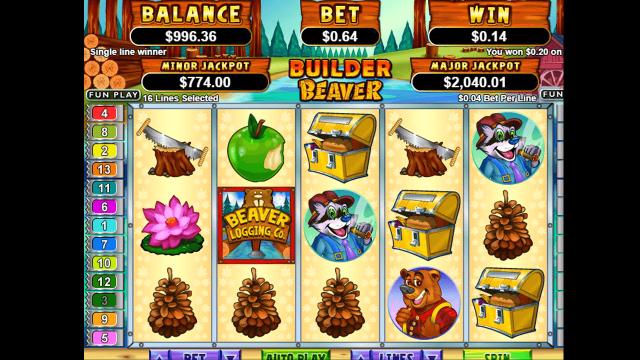 Бонусная игра Builder Beaver 2