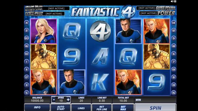 Игровой интерфейс Fantastic Four 11