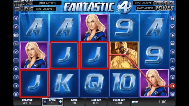 Бонусная игра Fantastic Four 10