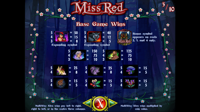 Бонусная игра Miss Red 9