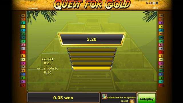 Игровой интерфейс Quest For Gold 2