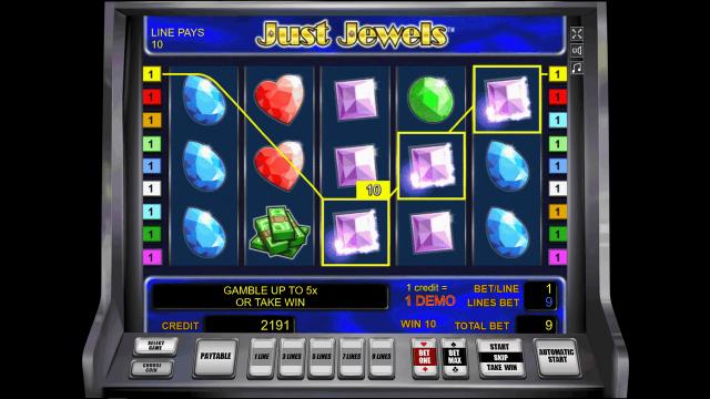 Игровой интерфейс Just Jewels 7
