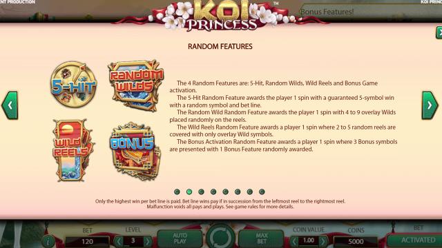 Бонусная игра Koi Princess 3