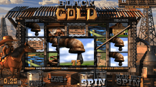 Характеристики слота Black Gold 7