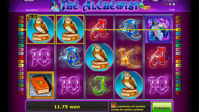 Бонусная игра The Alchemist 4