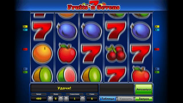 Характеристики слота Fruits' N Sevens 7