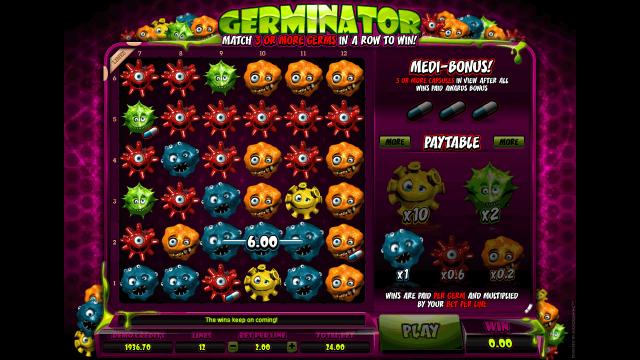Бонусная игра Germinator 9