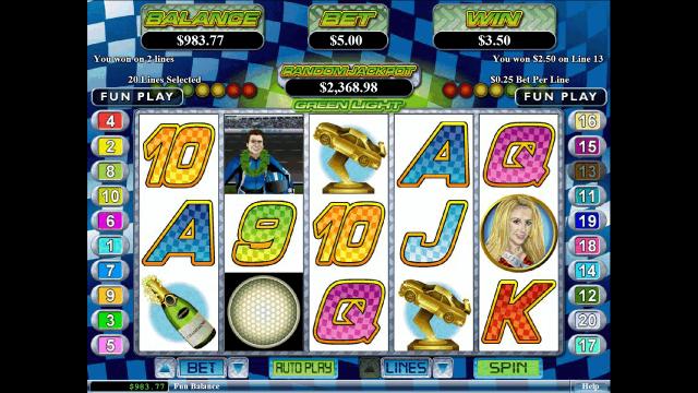 Игровой интерфейс Green Light 4