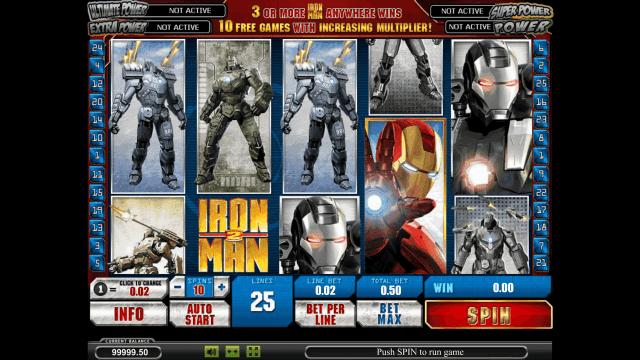 Бонусная игра Iron Man 2 1