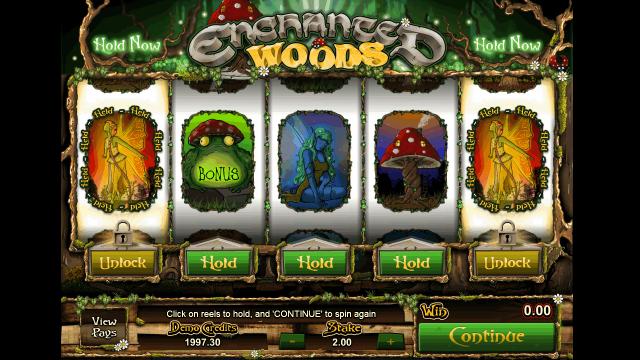 Бонусная игра Enchanted Woods 10
