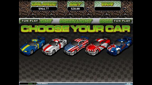 Игровой интерфейс Green Light 7