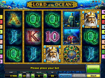 Бонусная игра Lord Of The Ocean 3