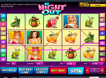 Бонусная игра A Night Out 4