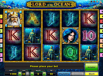 Бонусная игра Lord Of The Ocean 2